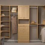 Closet Organizer Wood Shelving System