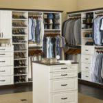 White Closet Organizer